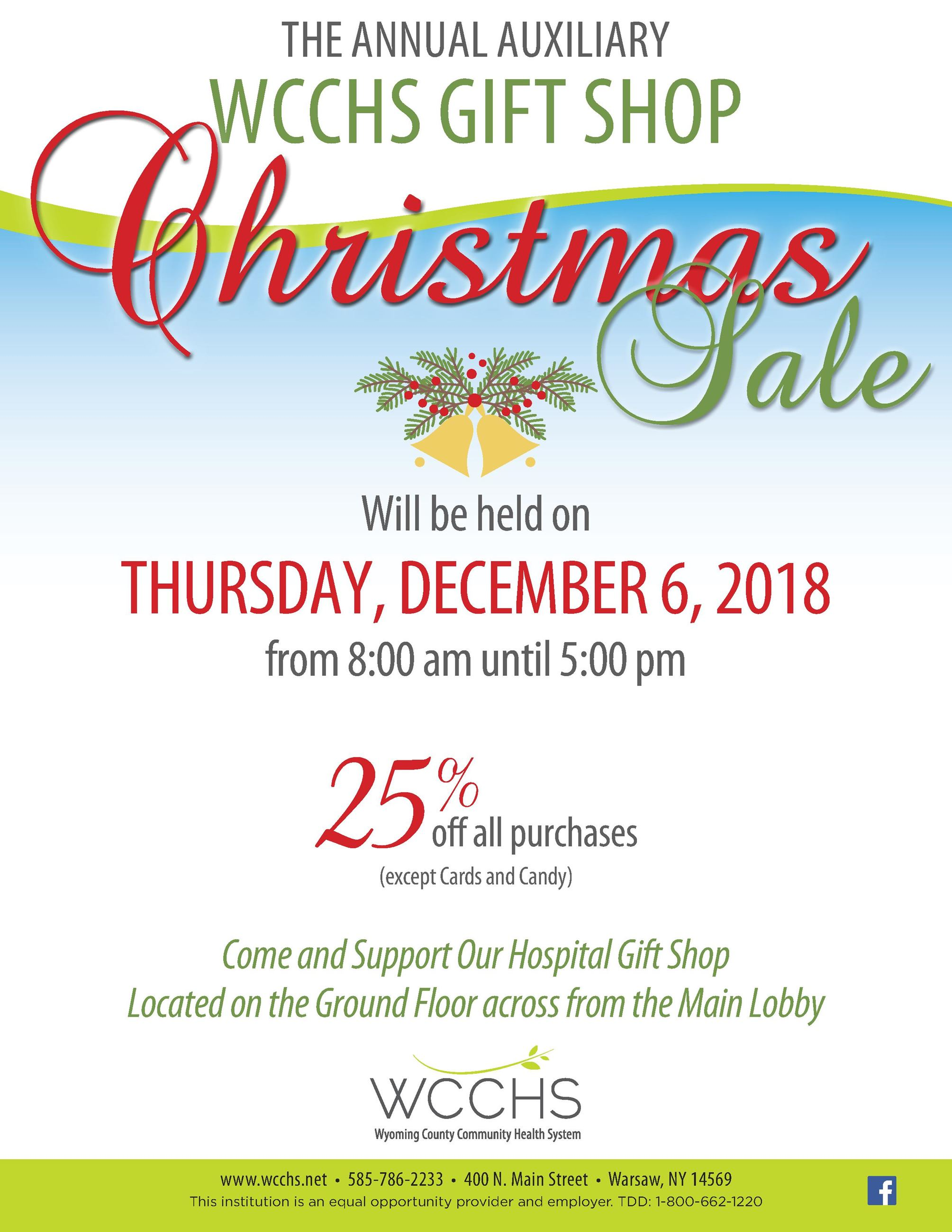 WCCH0630_Holiday Gift Shop Sale flyer_8.5x11