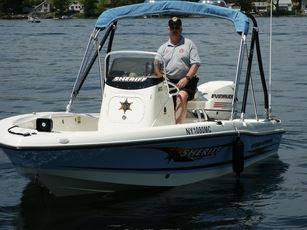 Officer aboard Sheriff's Office boat