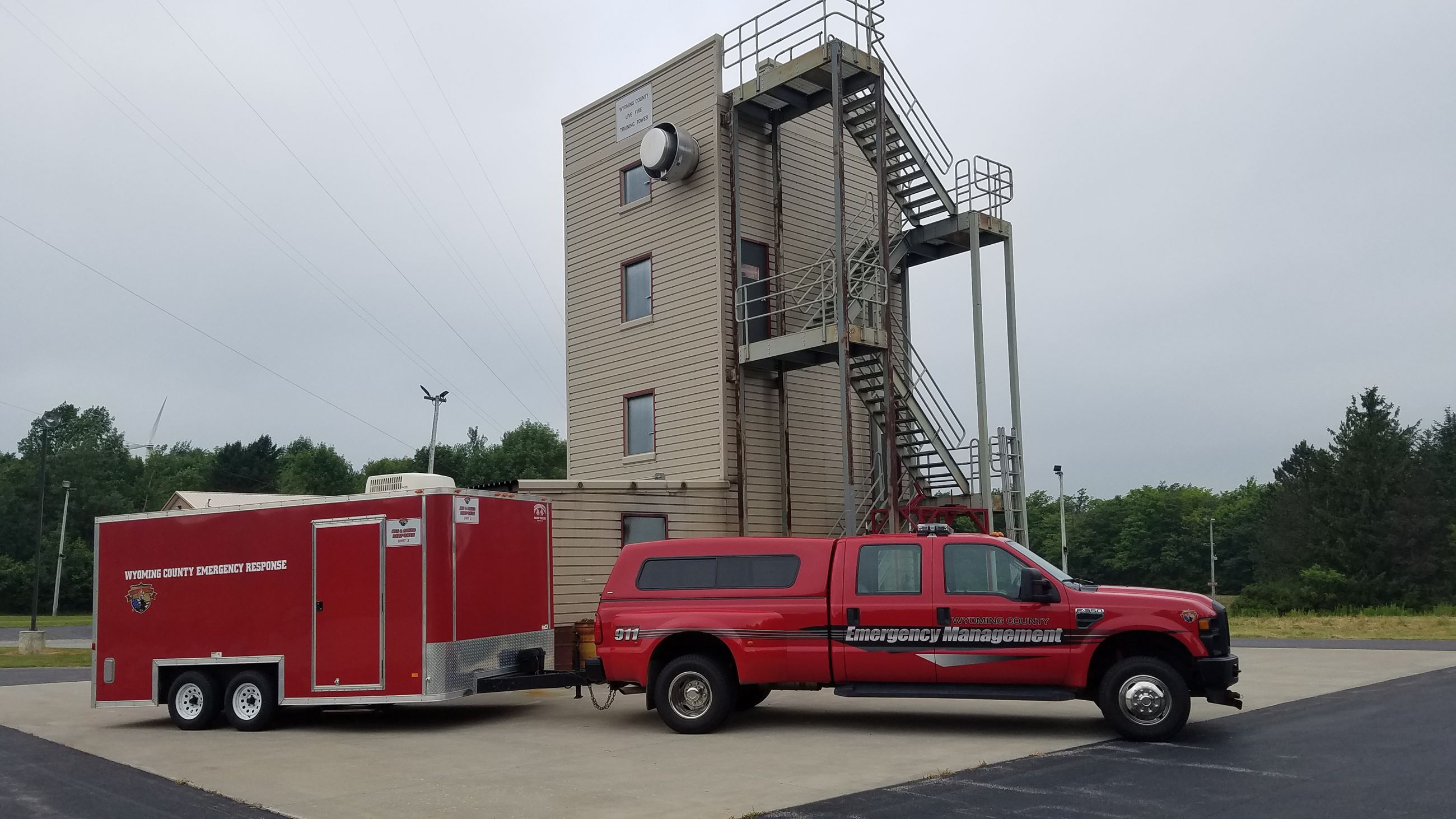 Equipment and Burn Tower