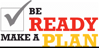 Be Ready Make a Plan Logo